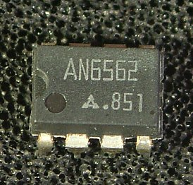 AN1358 (AN6562), AN1358S (AN6562S) Dual Operational Amplifiers  Overview: The AN1358 (AN6562) and AN1358S (AN6562S) are dual operational amplifiers with two phase compensation circuits built-in, have a wide range of operaing supply voltage, and can operate on a single power supply. They have electrical characteristics equivalent to those of the conventional operational amplifiers, and are low-powered and suitable for application to various circuits. Note: The type numbers in ( ) are old ones.  Features: • Built-in phase compensation circuits • Wide range of input voltage: 0V to VCC–1.5V • Wide range of operating supply voltage:   Single power supply: 3 to 30V   Dual power supply: ±1.5 to ±15V