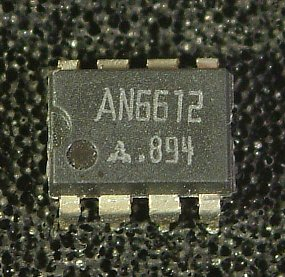 AN6612, AN6612S Motor Control Circuits  Overview: The AN6612 and the AN6612S are the electronic governor circuits suitable for the rotating speed control of a low voltage and compact DC motor which is used for a small tape recorder, etc.  Features: • Wide range of operating voltage : VCC (opr) =1.8V ~ 8V • 2 package types • Fewer external parts • Speed control in steps with linear fine control • Output current limiting circuit is built-in