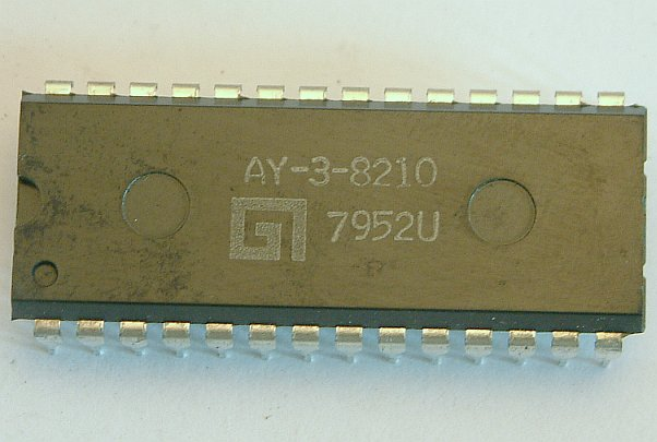 AY-3-8210  TV-Tuning-Control  28-Pin DIL Package  Applikationsbeispiel im