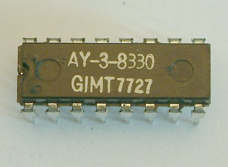 AY-3-8330  TV Tuning On Screen Display  16-Pin DIL Package