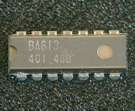BA613  Transistor-Array  14-Pin DIL Package
