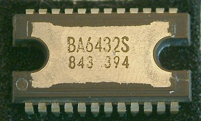 BA6431S, BA6432S   3-Phase DD Motor Drivers  The BA6431S and BA6432S are a 1-chip 3-phase DD motor driver for driving the capstan of VTR.  * Features 1) Pseudo linear output system. 2) Builtin torque ripple cancelling circuit. 3) Builtin revering brake based on detecting rotating direction. 4) Provided with forced stopping function. 5) Provided with motor power supply control terminal. 6) Builtin heat shielding circuit.  * Applications VTR capstan